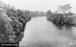 Hay-on-Wye, The River Wye c.1950