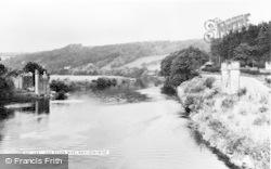 Hay-on-Wye, The River Wye c.1965