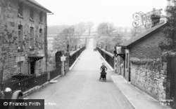 Hay-on-Wye, The Road To Clyro c.1950