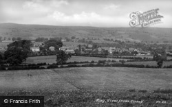 View From Cusop c.1950, Hay-on-Wye