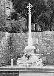 Hay-on-Wye, War Memorial c.1950