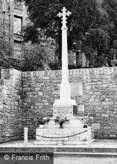 Hay-on-Wye, War Memorial c1950