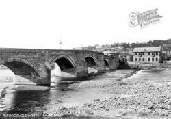 The Bridge And Reading Rooms c.1950, Haydon Bridge