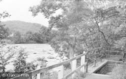 The River At Spa Well c.1955, Haydon Bridge
