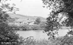 Haydon Bridge, The River From East Land's End c.1955