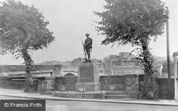 The War Memorial c.1950, Haydon Bridge