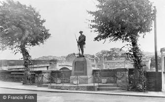 Haydon Bridge, the War Memorial c1950