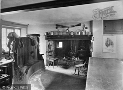 Hayes Barton, Birthplace Of Sir Walter Raleigh, The Kitchen 1928