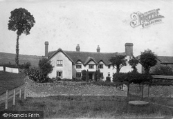 Hayes Barton, The Birthplace Of Sir Walter Raleigh 1890
