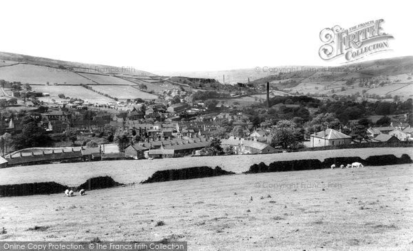 Photo of Hayfield, From Snake Path c.1960