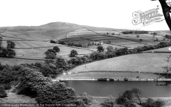 Photo of Hayfield, Kinder Scout From Kinder Road c.1960
