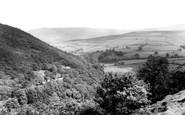 Hayfield, Kinder Valley from Stubbs Piece c1960