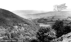 Kinder Valley From Stubbs Piece c.1960, Hayfield