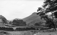 Hayfield, Mount Famine, Kinder c1960
