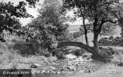 Pack Horse Bridge c.1950, Hayfield