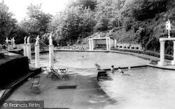Park Hall Pool c.1960, Hayfield