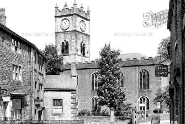 Hayfield, the Church c1960