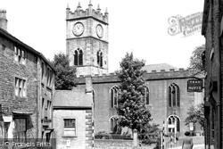 St Matthew's Church c.1955, Hayfield