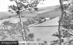 Tunstead House Kinder c.1955, Hayfield