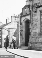 Young Men In Market Street c.1950, Hayfield