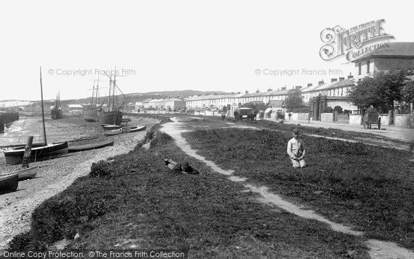 Hayle, Penpol Terrace 1892