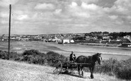 Hayle, the Pool and Town c1950