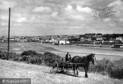 The Pool And Town c.1950, Hayle