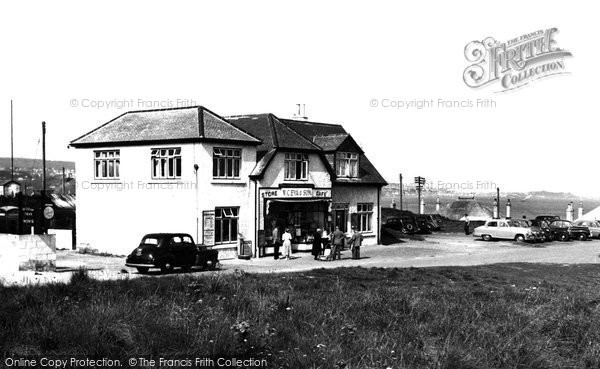 Hayle, the Store and Cafe c1955