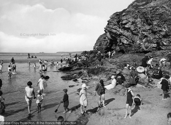 Hayle, Towans and Beach 1927
