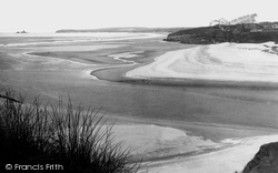 Towans And Beach Showing Godrevy 1928, Hayle