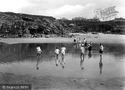 Towans And The Paddling Pool 1925, Hayle