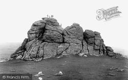 Haytor Vale, Haytor Rocks 1927