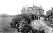 Haytor, Hotel and Rocks 1906