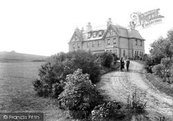Haytor Vale, Hotel And Rocks 1906