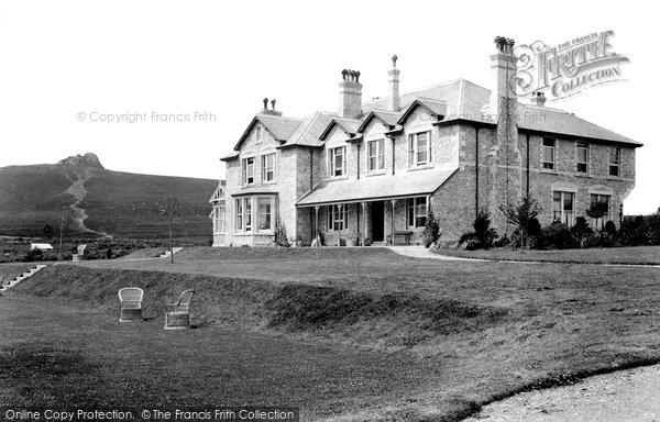 Photo of Haytor Vale, Moorland Hotel 1906