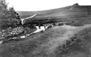 Haytor, Moorland Road to Widecombe 1920
