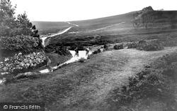 Haytor Vale, Moorland Road To Widecombe 1920