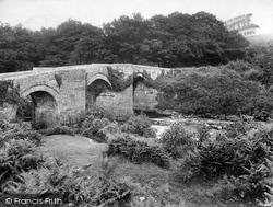 Haytor Vale, New Bridge 1925