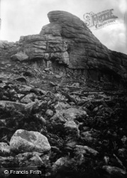 Haytor Vale, Rocks 1906