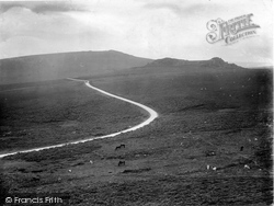 Haytor Vale, View From The Tor 1920