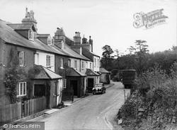 Haytor Vale, Village And Rock Inn c.1955