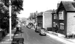 Haywards Heath, Boltro Road c.1960