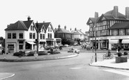 Haywards Heath, Commercial Square c.1960