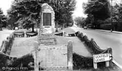 Haywards Heath, Memorial Stone c.1960