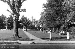 Haywards Heath, Muster Green c.1950