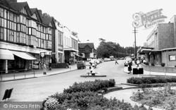 Haywards Heath, Perrymount Road c.1960