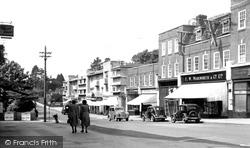 Haywards Heath, South Road 1954