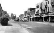 Haywards Heath, South Road c.1955