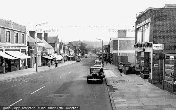 Photo of Haywards Heath, South Road c.1965