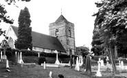 Haywards Heath, St Wilfrid's Church 1963